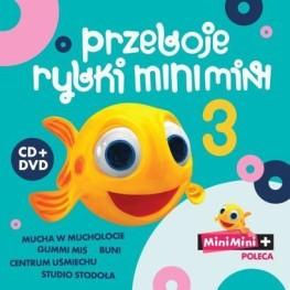 Przeboje rybki MiniMini 3 ; CD+DVD