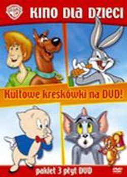 Kultowe Kreskówki pakiet 3 DVD